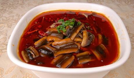 四川小吃之水煮鳝鱼的做法