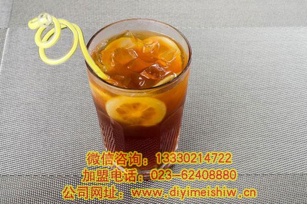 华飞柠檬红茶培训学员制作成品